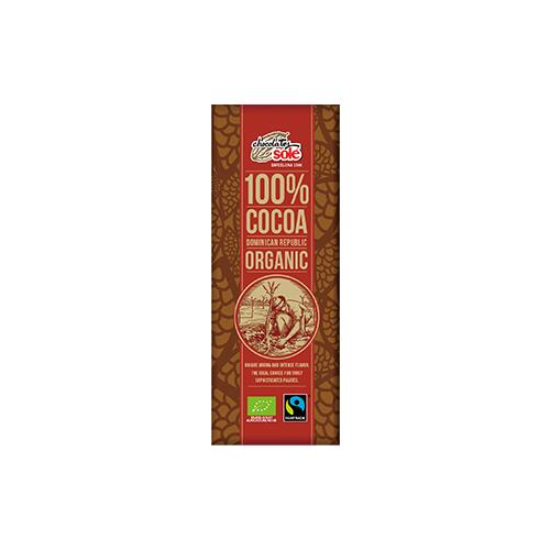冬季限定【チョコレートソール】ダークチョコレート 100% 25g