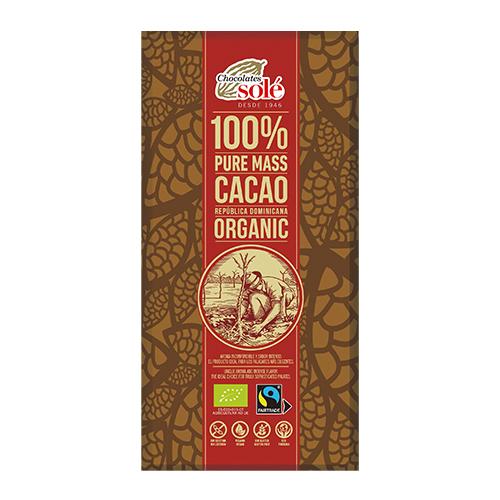 冬季限定【チョコレートソール】ダークチョコレート 100% 100g