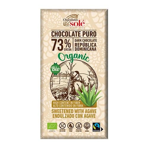 冬季限定【チョコレートソール】ダークチョコレート 73% アガベ 100g